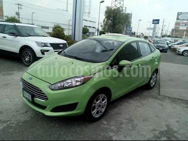 Foto venta Auto usado Ford Fiesta Sedan SE (2014) color Verde precio $132,000