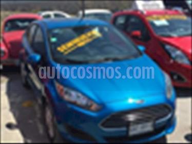 Ford Fiesta Sedan SE usado (2017) color Azul Electrico precio $190,000