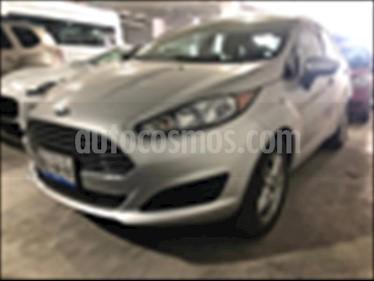 Foto venta Auto usado Ford Fiesta Sedan SE (2018) color Plata precio $218,000