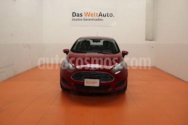 Foto venta Auto usado Ford Fiesta Sedan SE (2016) color Rojo Rubi precio $170,000