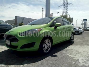 Foto venta Auto usado Ford Fiesta Sedan SE (2014) color Verde precio $135,000