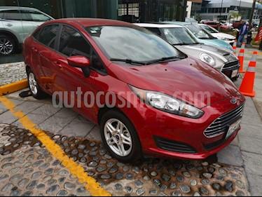 Foto venta Auto usado Ford Fiesta Sedan SE  (2017) color Rojo Rubi precio $155,000