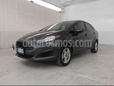 Foto venta Auto usado Ford Fiesta Sedan SE (2018) color Gris precio $219,000