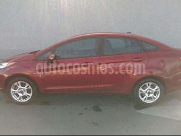 Foto venta Auto usado Ford Fiesta Sedan SE (2014) color Rojo precio $140,000