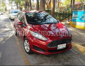 Foto venta Auto usado Ford Fiesta Sedan SE (2016) color Rojo Rubi precio $154,000