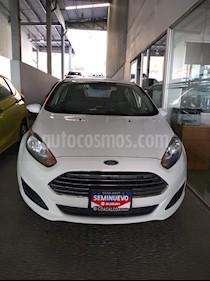 Foto venta Auto usado Ford Fiesta Sedan SE (2015) color Blanco Oxford precio $140,000