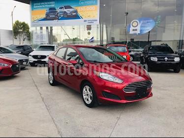 Foto venta Auto usado Ford Fiesta Sedan SE (2016) color Rojo Rubi precio $185,000
