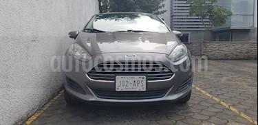 Foto venta Auto Seminuevo Ford Fiesta Sedan SE (2014) color Gris Nocturno precio $97,000