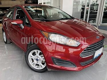 Foto venta Auto usado Ford Fiesta Sedan SE (2016) color Rojo Rubi precio $179,000