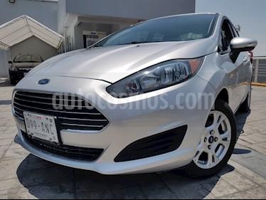 Foto venta Auto usado Ford Fiesta Sedan SE (2016) color Plata Estelar precio $180,000
