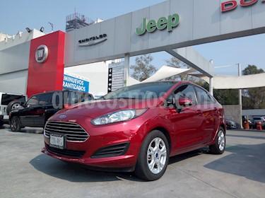Foto venta Auto Seminuevo Ford Fiesta Sedan SE (2016) color Rojo Rubi precio $170,000