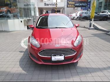 Foto venta Auto usado Ford Fiesta Sedan SE (2016) color Rojo Rubi precio $169,000