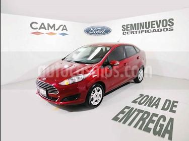 Foto venta Auto usado Ford Fiesta Sedan SE (2016) color Vino Tinto precio $169,900