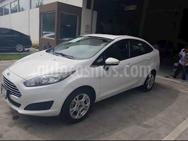 Foto venta Auto usado Ford Fiesta Sedan SE (2016) color Blanco precio $155,000
