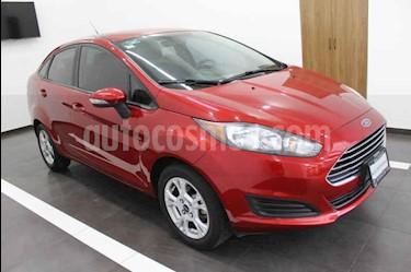 Foto venta Auto usado Ford Fiesta Sedan SE (2016) color Rojo precio $179,000