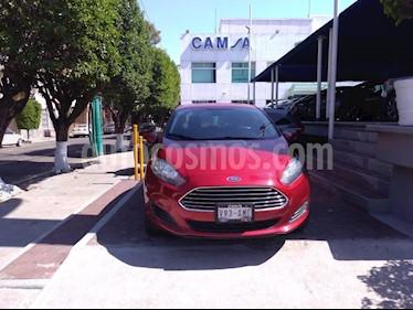 Foto venta Auto usado Ford Fiesta Sedan SE (2016) color Rojo precio $192,900