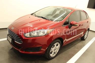Foto venta Auto usado Ford Fiesta Sedan SE (2016) color Rojo precio $176,000