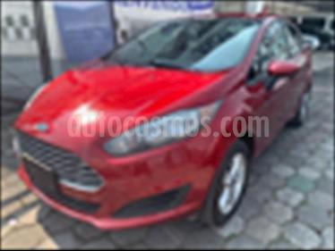 Foto Ford Fiesta Sedan SE usado (2017) color Rojo precio $184,500