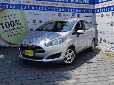 Foto venta Auto usado Ford Fiesta Sedan SE (2016) color Plata Estelar precio $169,000