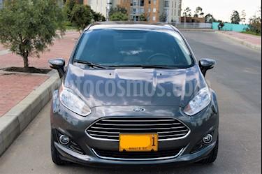 Foto venta Carro usado Ford Fiesta Sedan Titanium Aut (2015) color Gris precio $36.000.000