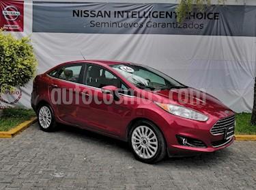 Foto venta Auto usado Ford Fiesta Sedan Titanium Aut (2016) color Rojo precio $199,000