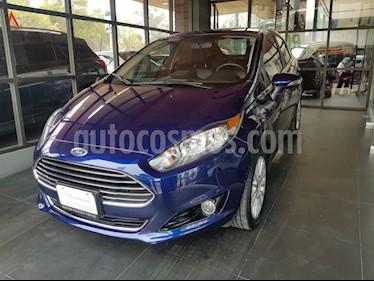 Foto venta Auto usado Ford Fiesta Sedan Titanium Aut (2016) color Azul Brillante precio $198,000