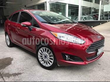 Ford Fiesta Sedan Titanium Aut usado (2016) color Rojo precio $182,500