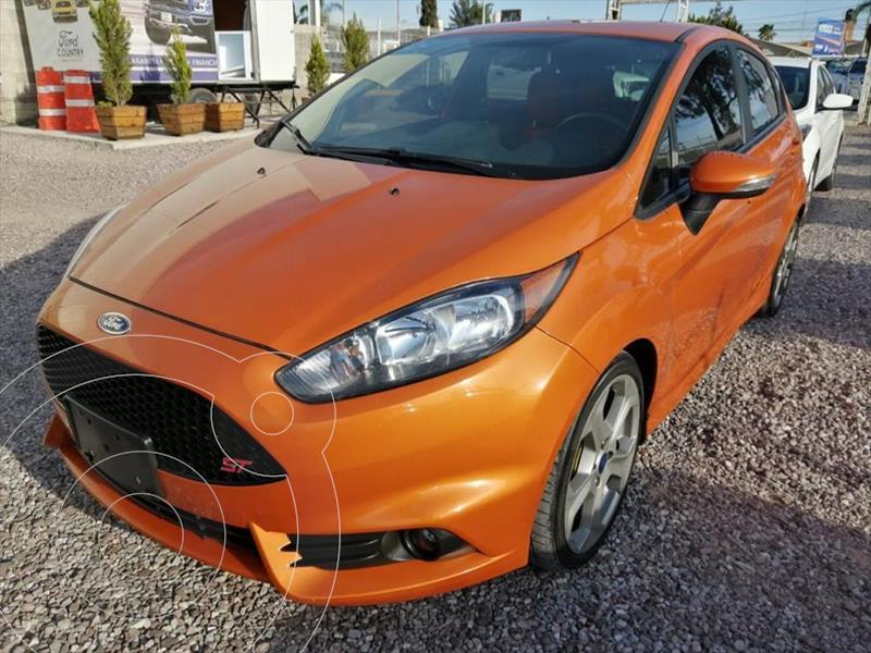 Foto Ford Fiesta ST 1.6L turbo usado (2019) color Naranja precio $369,000