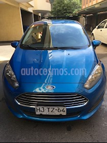 Ford Fiesta 1.6L S  usado (2016) color Azul precio $5.990.000