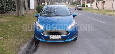 Foto venta Auto usado Ford Fiesta 1.6L SE (2017) color Azul Electrico precio $7.100.000