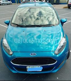 Foto venta Auto usado Ford Fiesta  5P Ambiente Plus (2014) color Azul Metalizado precio $360.000