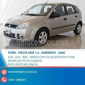 Foto venta Auto usado Ford Fiesta  5P Ambiente (2008) color Beige precio $188.000