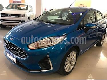 Foto venta Auto usado Ford Fiesta  5P Titanium Kinetic Design (2018) color Azul Celeste precio $649.000