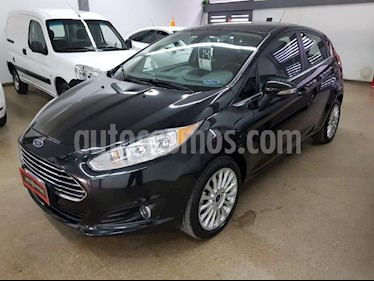 Foto venta Auto usado Ford Fiesta  5P Titanium Kinetic Design (2014) color Negro precio $480.000