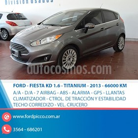 Foto Ford Fiesta  5P Titanium Kinetic Design usado (2013) color Gris Oscuro