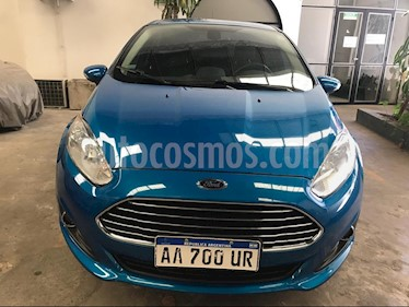Foto venta Auto usado Ford Fiesta  5P Titanium Kinetic Design (2016) color Azul precio $510.000
