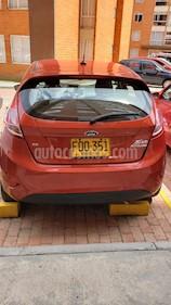 Ford Fiesta 5P usado (2018) color Rojo Rally precio $40.500.000