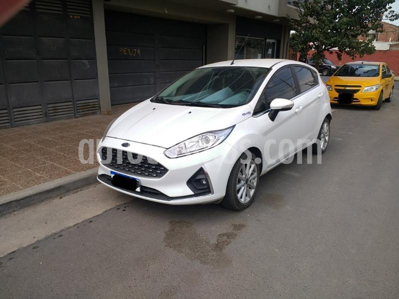 Ford Fiesta  5P LX 1.6 Full usado (2018) color Blanco precio $1.100.000