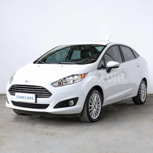 Ford Fiesta  5P Titanium Kinetic Design usado (2018) color Blanco precio $1.159.100