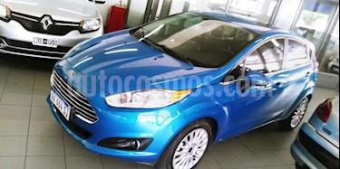 Ford Fiesta  5P Titanium Kinetic Design usado (2016) color Azul Celeste precio $430.000