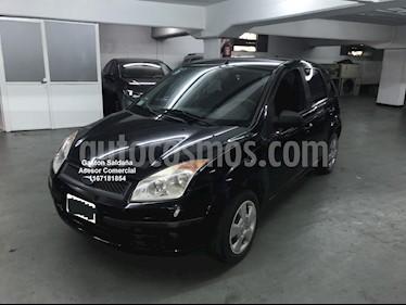 Ford Fiesta  5P Ambiente usado (2008) color Negro Ebony precio $230.000