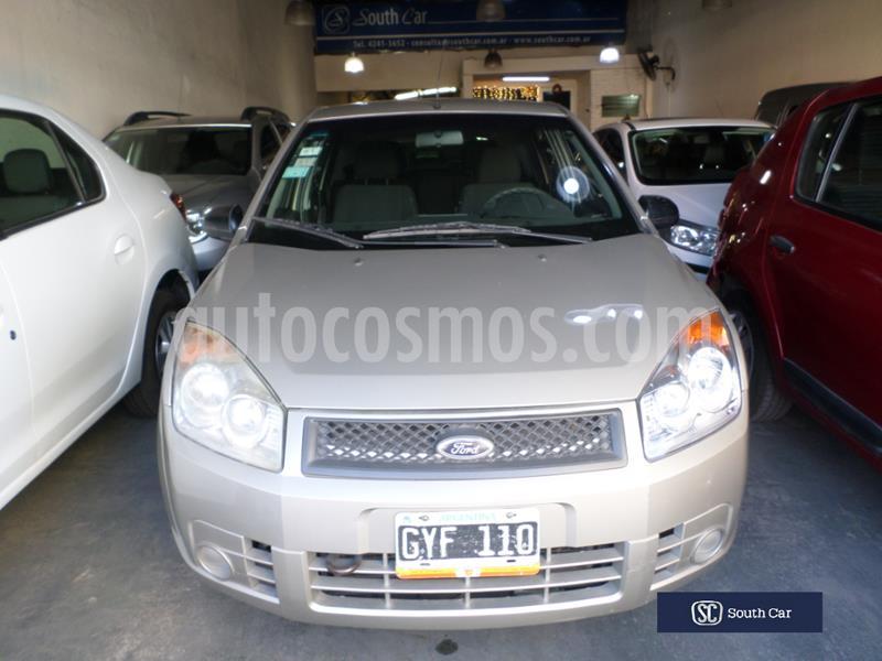 Ford Fiesta  5P Ambiente usado (2008) color Beige precio $395.000
