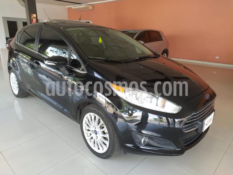 Ford Fiesta  5P Titanium Kinetic Design usado (2014) color Negro precio $890.000