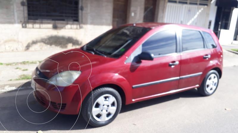 Ford Fiesta  5P Ambiente Plus usado (2004) color Rojo precio $490.000
