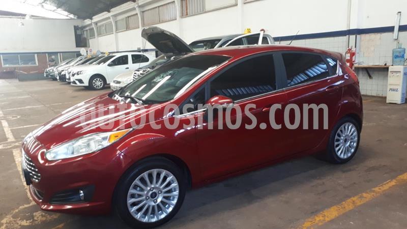 Ford Fiesta  Titanium  usado (2015) color Bordo precio $1.200.000