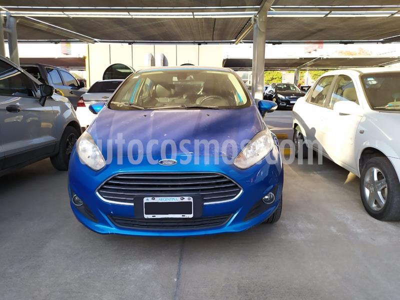 Ford Fiesta  5P Titanium Kinetic Design usado (2015) color Azul precio $880.000
