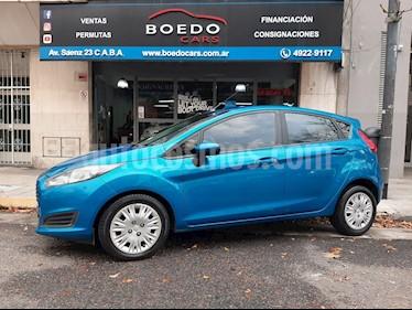 Ford Fiesta  1.6 S 5Ptas usado (2014) color Azul precio $519.900