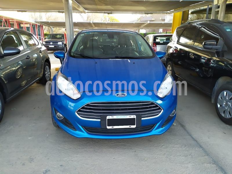 Ford Fiesta  5P Titanium Kinetic Design usado (2014) color Azul precio $850.000