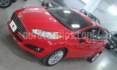 Ford Fiesta  5P Titanium Kinetic Design usado (2014) color Rojo precio $549.000