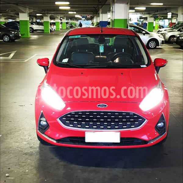 Ford Fiesta 1.6L Titanium  usado (2018) color Rojo Sport precio $7.500.000